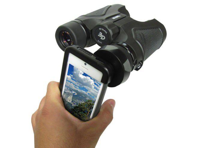 Fernglas adapter macht iphone kamera zum zoom objektiv pc welt