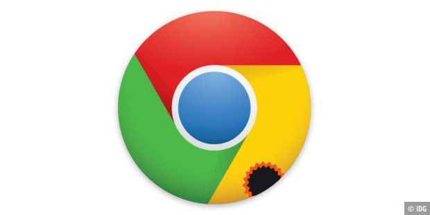 Chrome abgedichtet