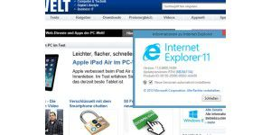 Internet Explorer 11 für Windows 7 ist erschienen