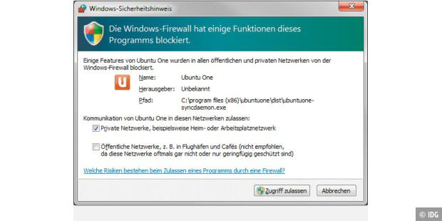 Die Windows-Firewall