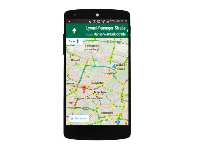 Navigieren mit dem Smartphone - PC-WELT