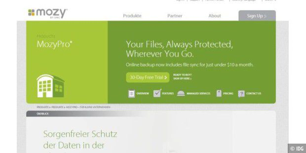 Mozy bringt verbesserte Cloud-Backup-Services