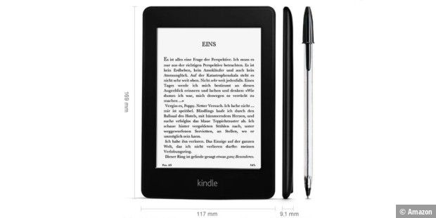 Der aktuelle Kindle Paperwhite