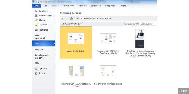 Broschüren Mit Microsoft Word Gestalten Pc Welt