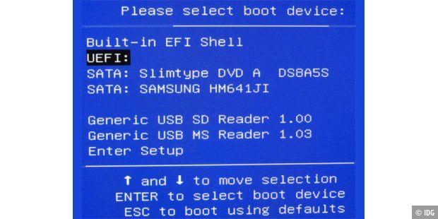 Windows vom USB-Stick im Uefi-Modus installieren - PC-WELT