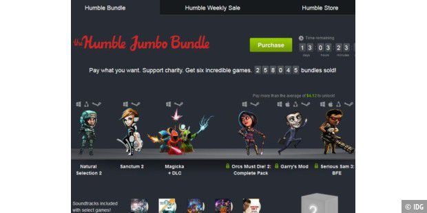 Das Humble Bundle 8