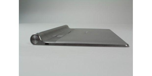 Die Ausbuchtung am Gehäuse soll das Lenovo-Tabletflexibler machen