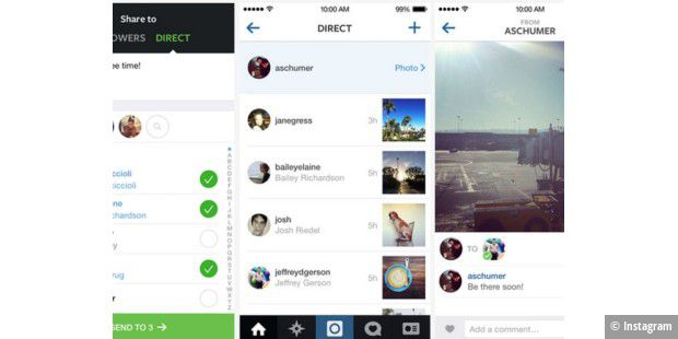 Instagram-App bekommt Direct-Messenger