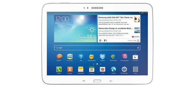 Gutes Couch-Tablet: Samsung Galaxy Tab 3 10.1