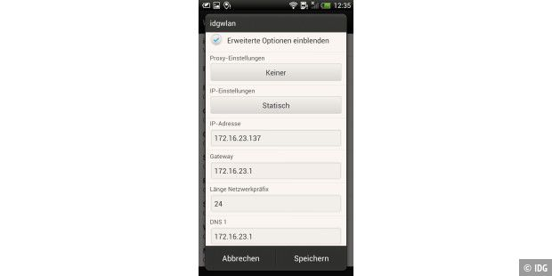 android ortung wlan