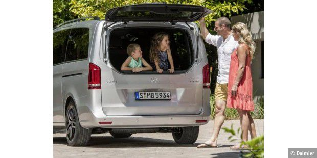 Mercedes-Benz stellt V-Klasse als neuen VW-Bus ...