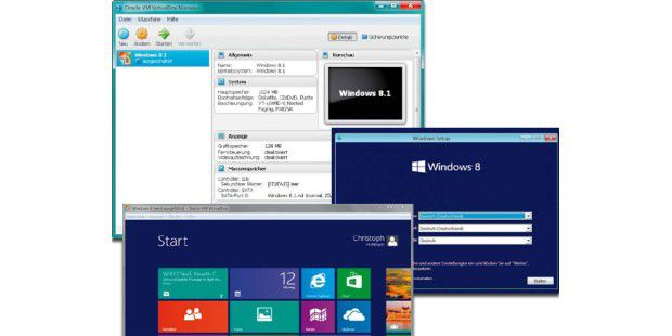 Windows 8.1 installieren