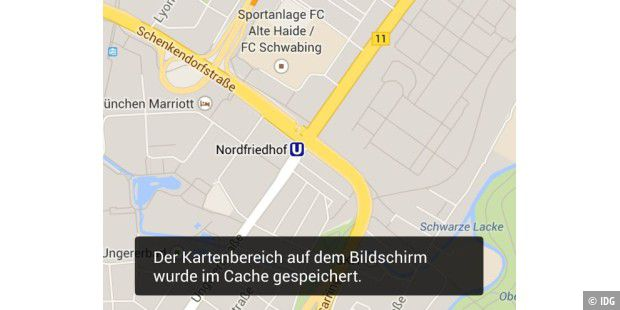 Karten In Google Maps Offline Verfugbar Machen Pc Welt