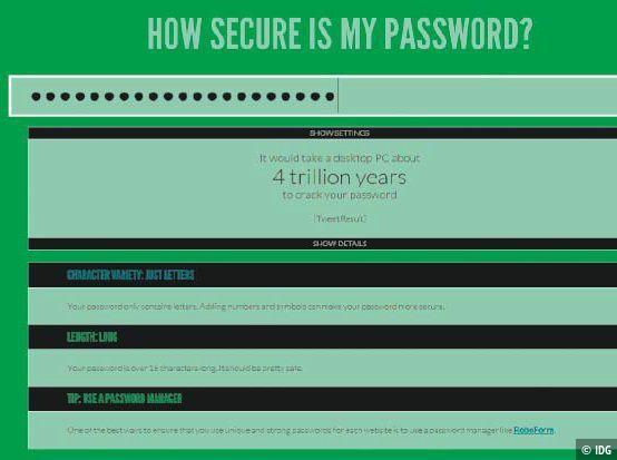 Passwort Knacken Dauer
