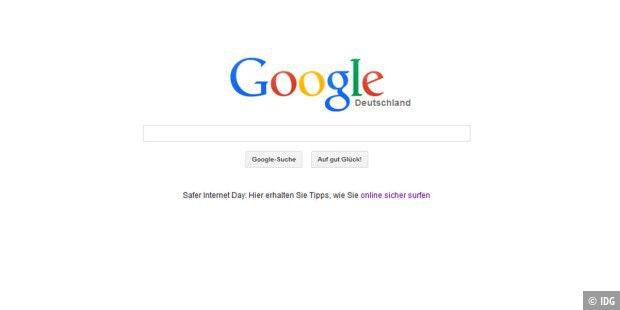 Safer Internet Day auf Google.de