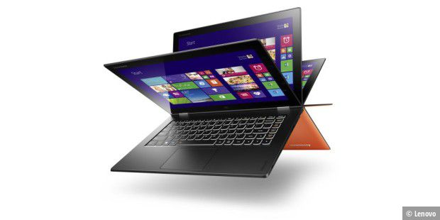 Flexibel: Klapp-Notebook Lenovo Yoga 2 Pro im Test