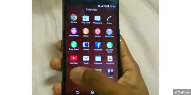 Sonys Xperia Z2 im Video