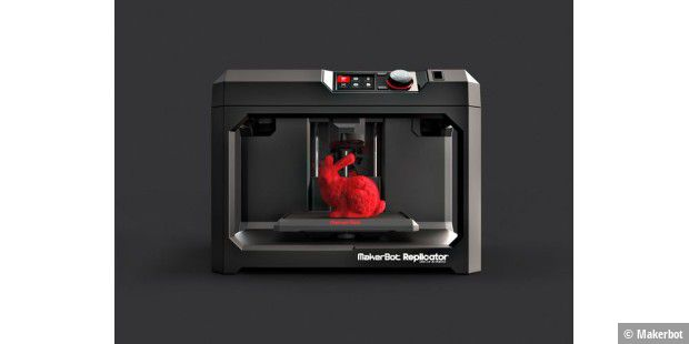 Fünfte Generation: Makerbot Replicator Desktop 3D Printer