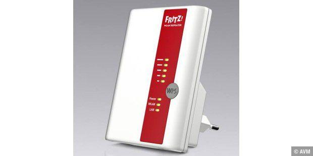 Fritz!WLAN Repeater 450E mit LAN-Anschluss vorgestellt - PC-WELT