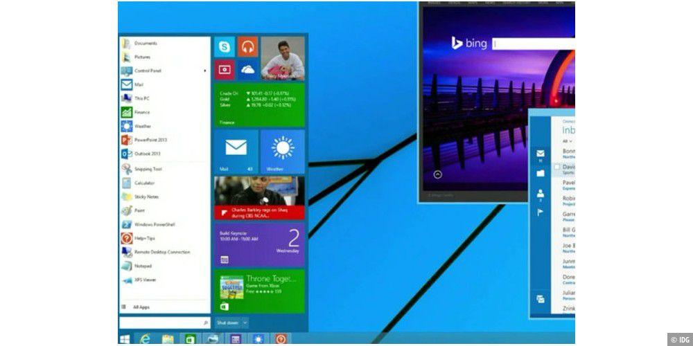 Gratis-Windows und neues Startmenü kommen angeblich im Herbst