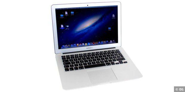 apple macbook air 13 2013 im test pc welt. Black Bedroom Furniture Sets. Home Design Ideas