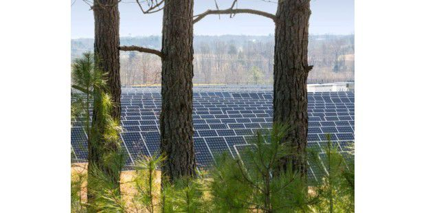 Solar-Anlage in North Carolina