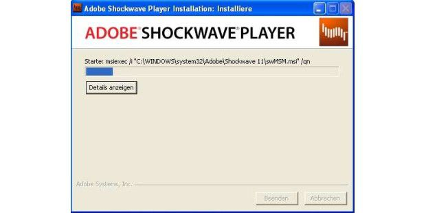 Adobe Shockwave Player