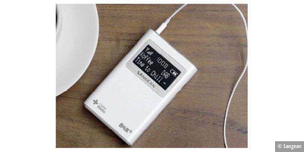 Portables Dab Radio Sangean Dpr 39 Im Test Pc Welt