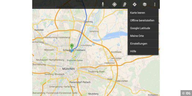 Stau Karte.Google Maps Verbesserte Stau Umfahrung Und Offline Karten Pc Welt