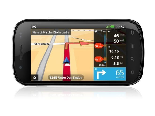 tomtom navigation f r android im praxistest pc welt. Black Bedroom Furniture Sets. Home Design Ideas
