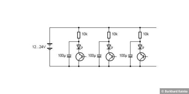Multi-LED-Blitzer selber bauen - so geht´s - PC-WELT