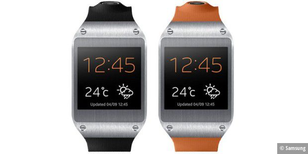 Galaxy Gear mit Tizen-Upgrade