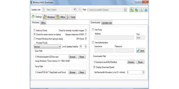 Windows Hotfix Downloader - kostenloser Download