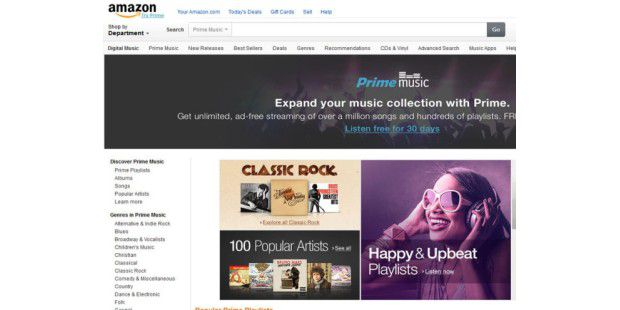 Amazon Prime Music ist in den USA gestartet