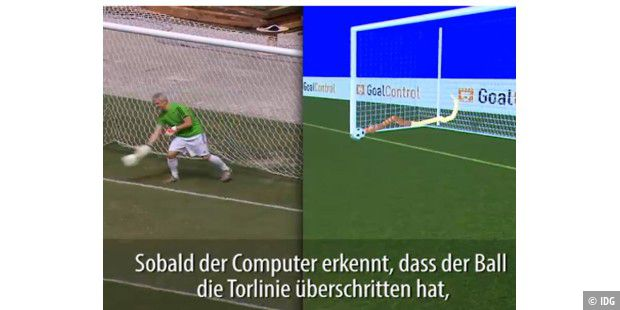 "So funktioniert die deutsche Torlinien-Technik ""Goalcontrol"""