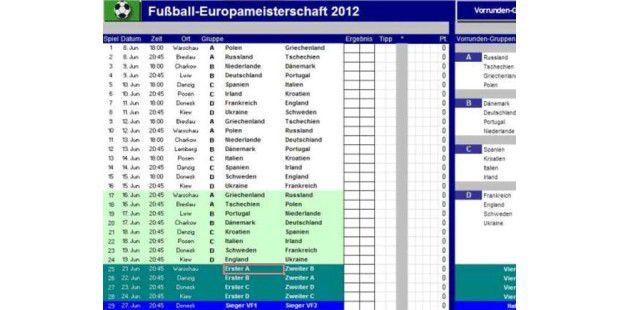 PC-WELT EM-Tippspiel 2012