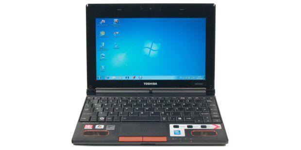 Netbooks mit AMD-Prozessor wie das Toshiba NB550D spielen auch Full-HD-Filme ab.