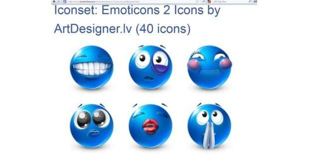 66 Icons für Ihr Desktop © iconarchive.com / ArtDesigner.lv