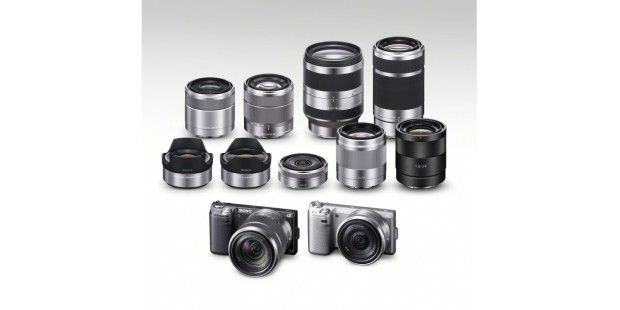 Das Line-up der Sony NEX