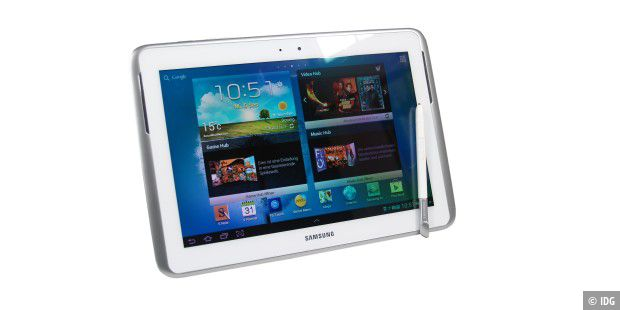 Top-Tablets mit vielen Extras: Samsung Galaxy Note 10.1