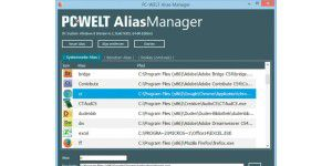 Windows-Tool: PC-WELT-AliasManager