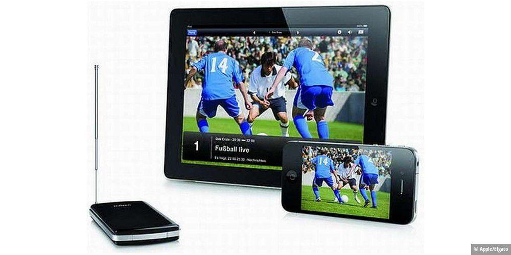 tv auf dem ipad und auf dem android tablet pc empfangen. Black Bedroom Furniture Sets. Home Design Ideas