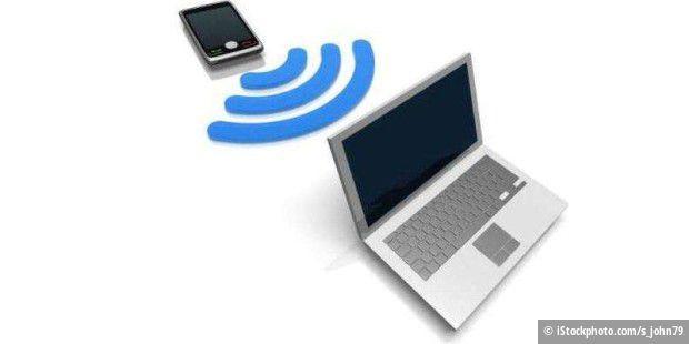 tethering mit android das notebook ins internet bringen pc welt. Black Bedroom Furniture Sets. Home Design Ideas