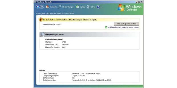 Windows Defender in seiner jetzigen Form