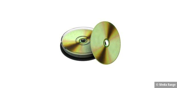 Media Range CD-R True Gold