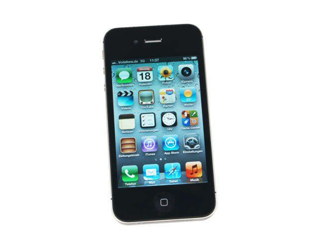 apple iphone 4s im test pc welt. Black Bedroom Furniture Sets. Home Design Ideas