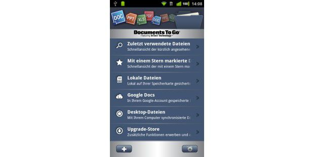 Documents to Go ist ein Veteran unter den mobilen