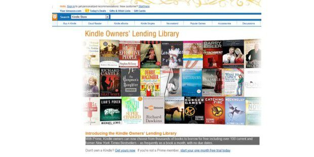 Amazon verleiht eBooks an Kindle-Besitzer