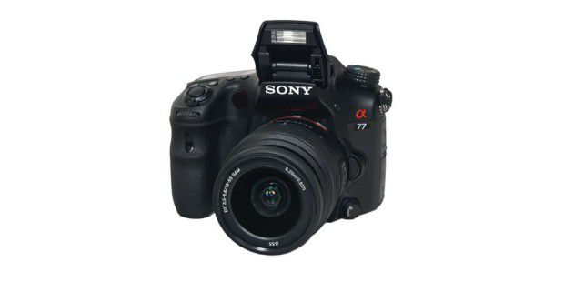 Sony Alpha SLT-A77V im Test