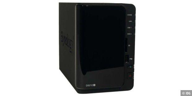 Synology Diskstation DS212+ im Test - PC-WELT